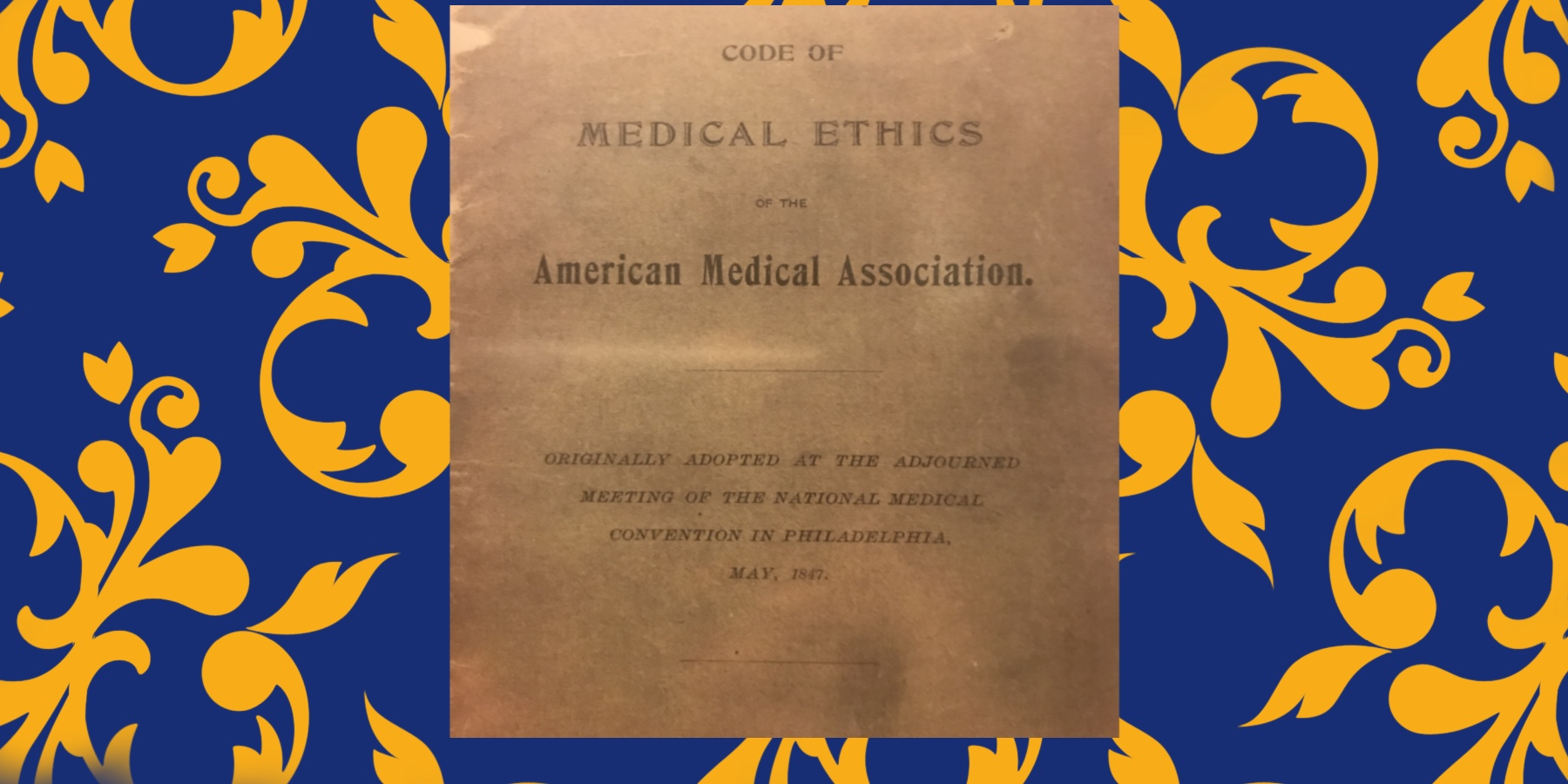 AMA Code of Medical Ethics' Opinions on Physicians