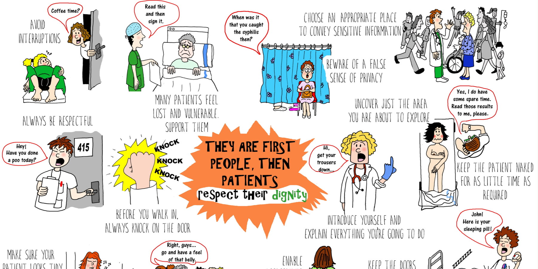 They Are People First, Then Patients