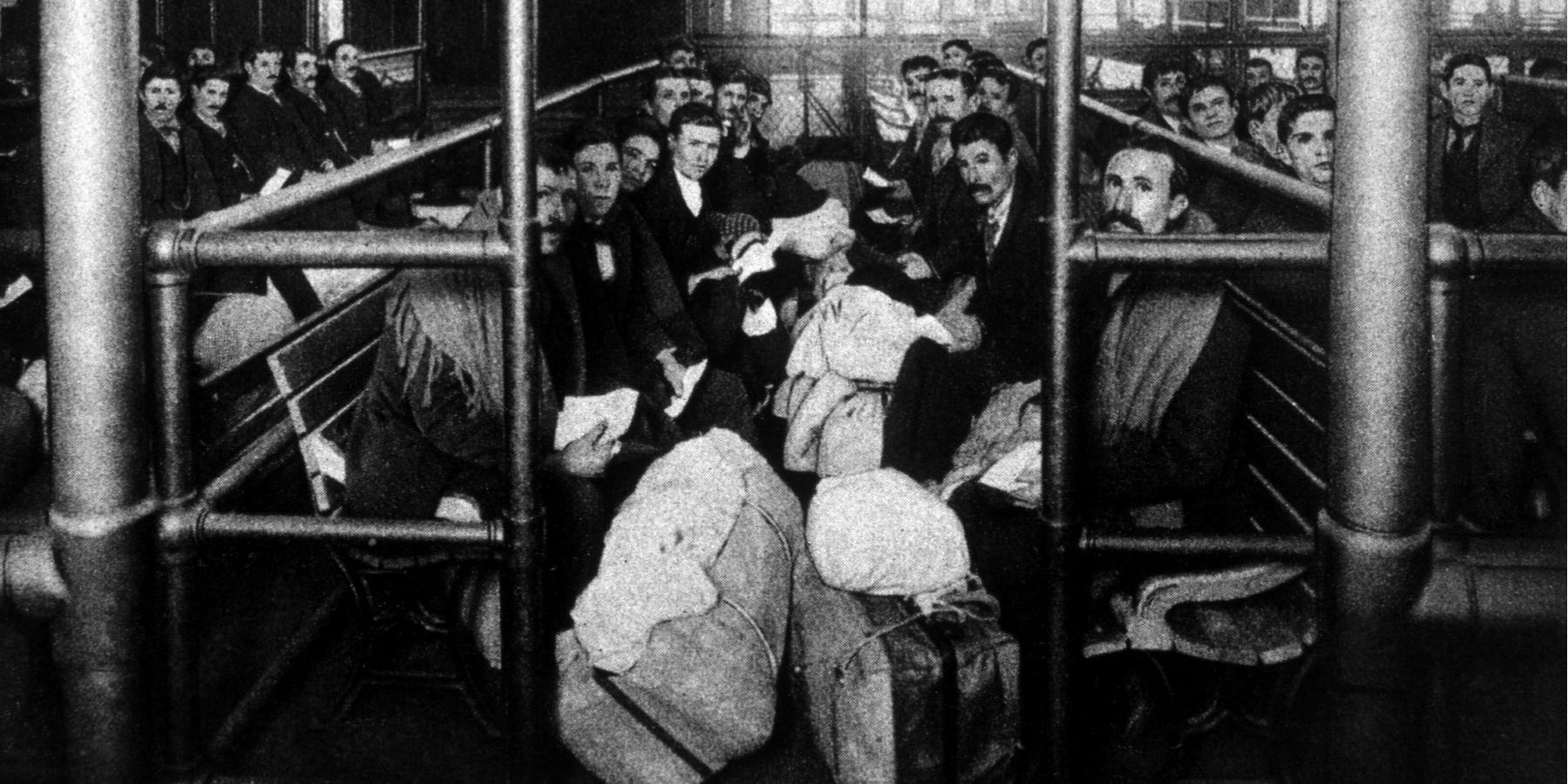Medical Examination of Immigrants at Ellis Island | Journal