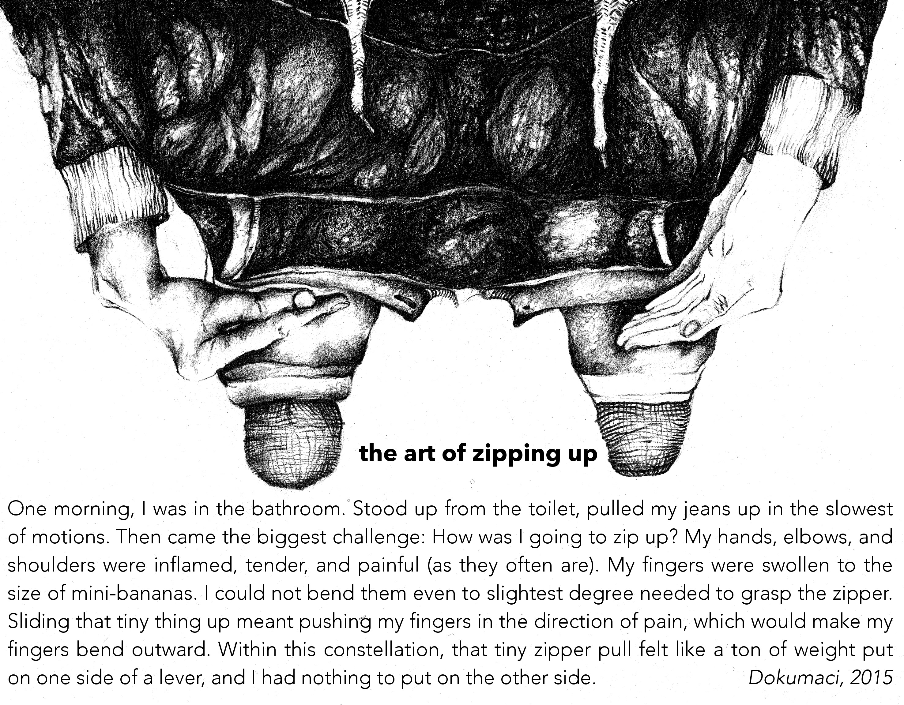 The Art of Zipping Up